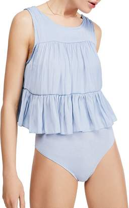 Free People Pretty Please Popover Bodysuit