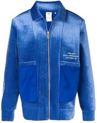 Puma corduroy zipped bomber jacket