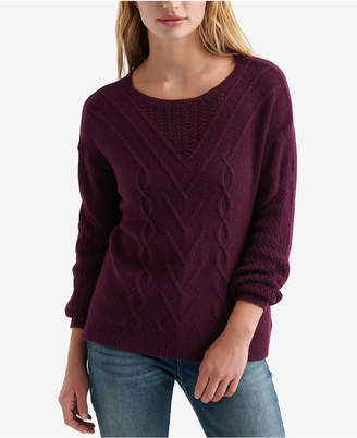 Lucky Brand Cable-Knit Sweater