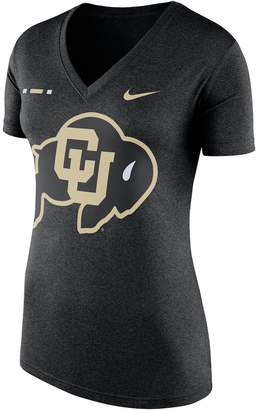 Nike Women's Colorado Buffaloes Striped Bar Tee