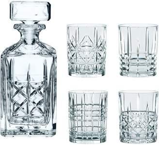 Nachtmann Highland 5-Piece Whisky Decanter & Tumbler Set