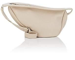 The Row Women's Slouchy Banana Small Leather Bag - Eggshell