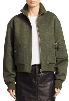 Rag & Bone Aviator Wool-Blend Bomber Jacket