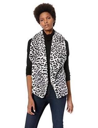 Jones New York Women's Faux Fur Vest