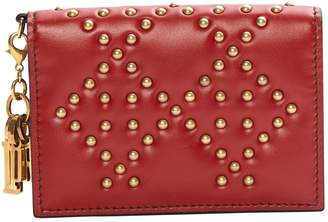 Christian Dior Red Leather Purses, wallets & cases