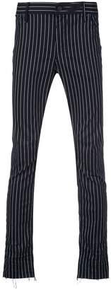 RtA skinny pinstripe trousers