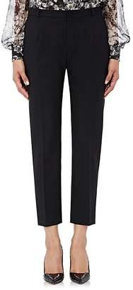 Lanvin Women's Piqué Slim Crop Trousers