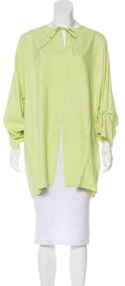 Shamask Silk Oversize Blouse