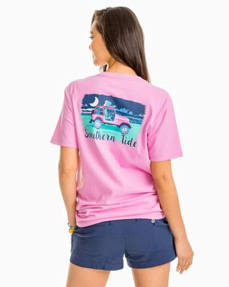 Southern Tide Beach Night Graphic T-Shirt
