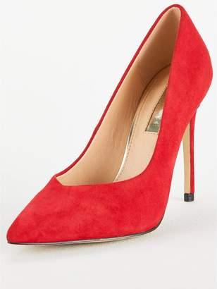 Office Highball Heeled Shoe - Red