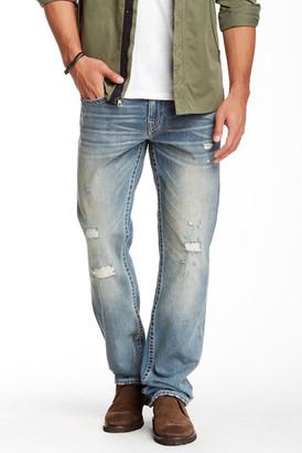 True Religion Basic Straight Leg Jean $189 thestylecure.com