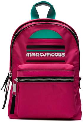 Marc Jacobs logo plaque backpack