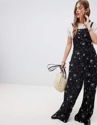 Free People Sweet in the Streets Printed Jumpsuit