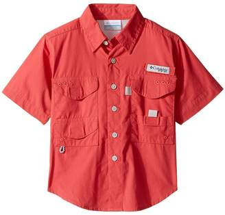 Columbia Kids Boneheadtm S/S Shirt Boy's Short Sleeve Button Up