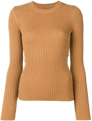 MM6 MAISON MARGIELA cut-out knitted sweater