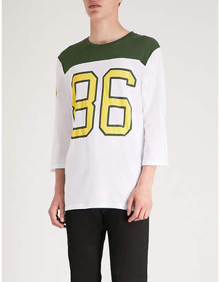 The Rolling Stones cotton-jersey football top