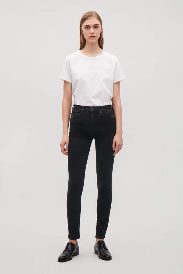 Cos CROPPED SKINNY-FIT JEANS