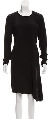 Reed Krakoff Long Sleeve Sheath Dress