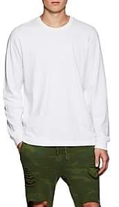 NSF Men's Cotton Jersey Long-Sleeve Shirt - White