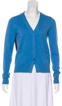 Chloé Bi-Color Cashmere Cardigan