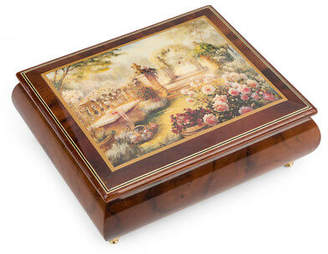 Ercolano New Lisa S Garden Musical Jewellery Box