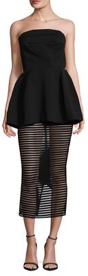 Ribbed Mini Dress $290 thestylecure.com