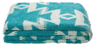 Kas Azaki Teal Throw