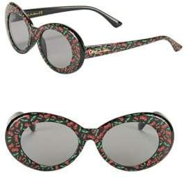 Sam Edelman 50MM Oval Sunglasses