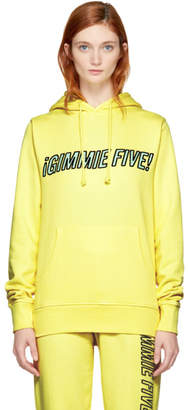 Ashley Williams Yellow Gimmie Five Track Hoodie