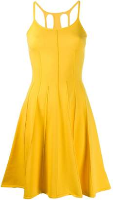 DSQUARED2 open back flared dress