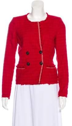 Etoile Isabel Marant Textured Button-Up Blazer