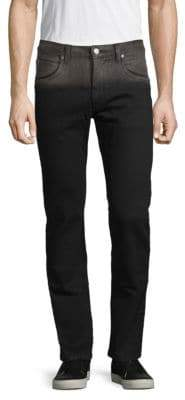 Helmut Lang Two-Tone Slim-Fit Jeans