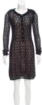 Marc by Marc Jacobs Lace Knit Dress
