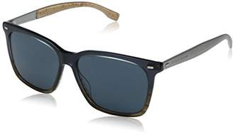 11068ac37ba ... HUGO BOSS BOSS by Men s B0883s Square Sunglasses