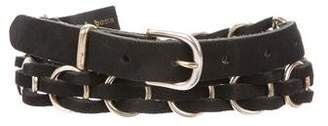 Rag & Bone Leather Ring Belt