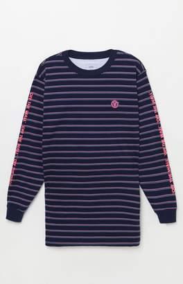 Vans Worldwide Striped Long Sleeve T-Shirt