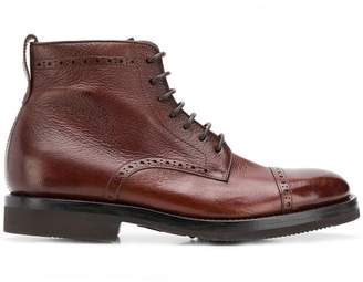 Henderson Baracco lace-up ankle boots