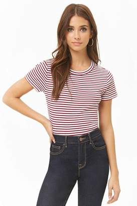 Forever 21 Multicolor Striped Top