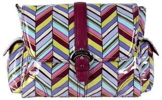 Kalencom Laminated Buckle Bag, Rainforest Pastille by