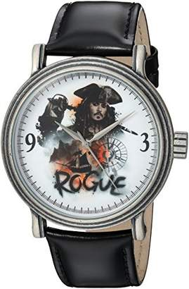 Disney Men's Pirates' Quartz Metal Casual Watch