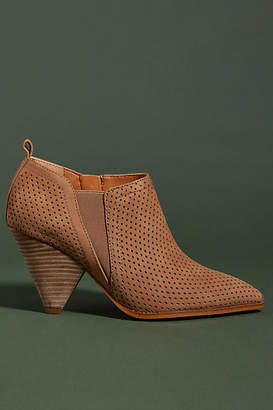 dc85b29a9ea Franco Sarto Perforated Suede Newbury Booties