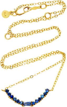 Ila Noemi 14K Gold Blue Sapphire Necklace