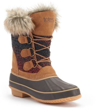 Totes Lynn Women's Winter Duck Boots $99 thestylecure.com