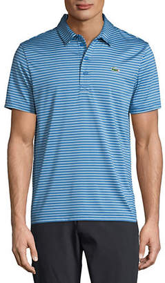 Lacoste Striped Short-Sleeve Polo