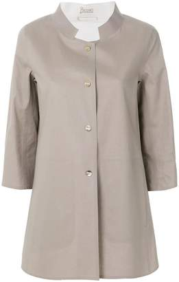 Herno Mack Spirit A-shape reversible jacket