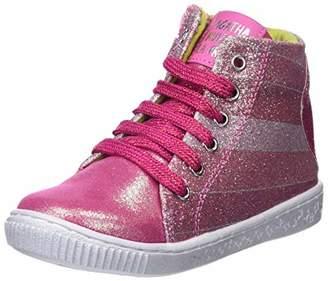 Agatha Ruiz De La Prada Girls'' 181946 Ankle Boots Pink FRESA (ULTRASUDE) 13UK Child