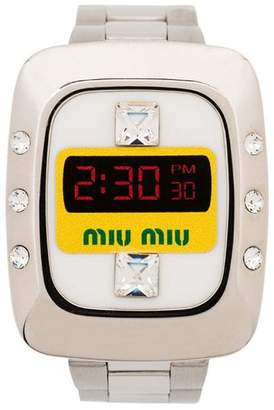Miu Miu watch bracelet