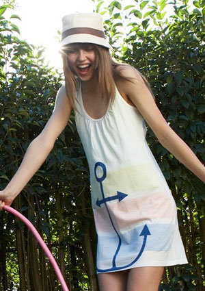 Sara Anchor Dress