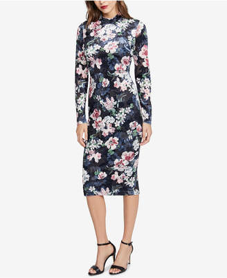 Rachel Roy Floral-Print Sheath Dress