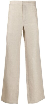 Brioni wide leg trousers